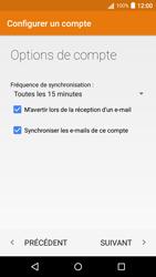 Acer Liquid Z530 - E-mail - Configurer l