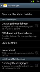 Samsung I9305 Galaxy S III LTE - SMS - Handmatig instellen - Stap 4