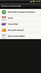 HTC S720e One X - E-mail - Manual configuration - Step 5