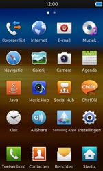 Samsung S8600 Wave 3 - E-mail - e-mail versturen - Stap 2