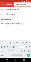 Nokia 3.1 - E-mails - Envoyer un e-mail - Étape 10