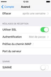 Apple iPhone 4 S iOS 9 - E-mail - Configuration manuelle - Étape 25