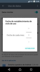 Sony Xperia X - Internet - Ver uso de datos - Paso 7