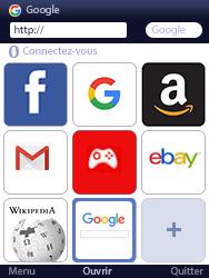 Mobiwire Doli - Internet et connexion - Naviguer sur internet - Étape 13