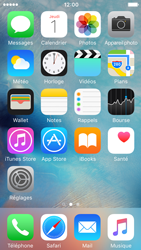 Apple iPhone 5c iOS 9 - Troubleshooter - E-mail et messagerie - Étape 1