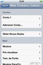 Apple iPhone iOS 5 - Email - Como configurar seu celular para receber e enviar e-mails - Etapa 15