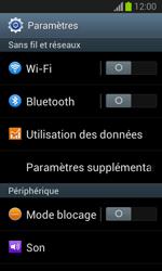 Samsung Galaxy Trend - Internet et connexion - Partager votre connexion en Wi-Fi - Étape 4