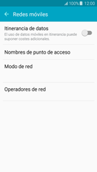 Samsung Galaxy J5 - Red - Seleccionar una red - Paso 5