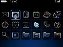 BlackBerry 8520 Curve - E-mail - E-mails verzenden - Stap 3