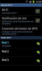 Samsung I8160 Galaxy Ace II - WiFi - Conectarse a una red WiFi - Paso 9
