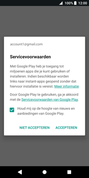 Sony Xperia XZ2 (H8216) - Applicaties - Account aanmaken - Stap 18