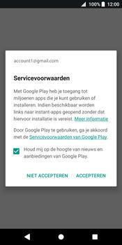 Sony Xperia XZ2 - Applicaties - Account instellen - Stap 18
