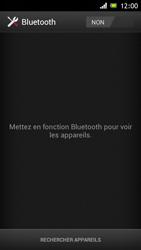 Sony ST26i Xperia J - Bluetooth - connexion Bluetooth - Étape 7