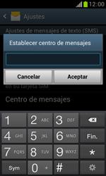 Samsung S7560 Galaxy Trend - Mensajería - Configurar el equipo para mensajes de texto - Paso 7