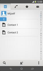 Sony Xperia E1 (D2005) - Contacten en data - Contacten kopiëren van SIM naar toestel - Stap 4