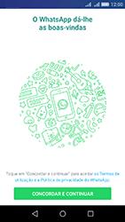 Huawei Y6 - Aplicações - Como configurar o WhatsApp -  5