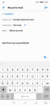 Huawei P20 Lite - E-mail - envoyer un e-mail - Étape 8