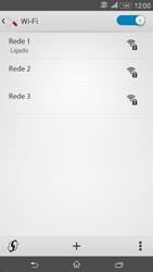 Sony Xperia E4 - Wi-Fi - Como ligar a uma rede Wi-Fi -  8