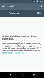 Sony Sony Xperia XA - Internet et connexion - Accéder au réseau Wi-Fi - Étape 5