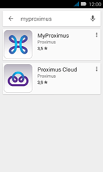 Huawei Y3 - Applications - MyProximus - Étape 6