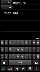 Nokia 700 - E-mail - e-mail versturen - Stap 9