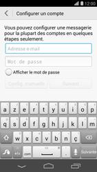 Huawei Ascend P7 - E-mail - Configuration manuelle - Étape 6