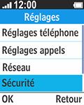 Bouygues Telecom Bc 211 - Sécuriser votre mobile - Personnaliser le code PIN de votre carte SIM - Étape 4