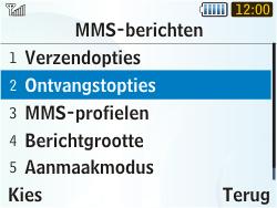 Samsung S3350 Chat 335 - MMS - probleem met ontvangen - Stap 8