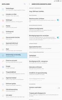 Samsung Galaxy Tab A 10.1 - Android Nougat - Beveiliging en ouderlijk toezicht - Hoe wijzig ik mijn SIM PIN-code - Stap 6