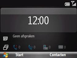 HTC S521 Snap - Voicemail - Handmatig instellen - Stap 1