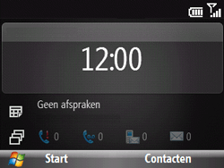HTC S521 Snap - Internet - Internetten - Stap 1