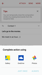 Samsung G903F Galaxy S5 Neo - Email - Sending an email message - Step 12
