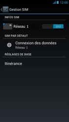 Acer Liquid E2 - Internet - Activer ou désactiver - Étape 5