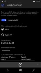 Microsoft Lumia 650 (Type RM-1152) - WiFi - Mobiele hotspot instellen - Stap 10