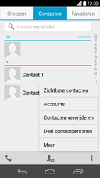 Huawei Ascend P6 (Model P6-U06) - Contacten en data - Contacten overzetten via Bluetooth - Stap 4