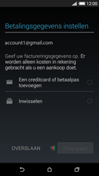 HTC Desire 620 - Applicaties - Account aanmaken - Stap 20