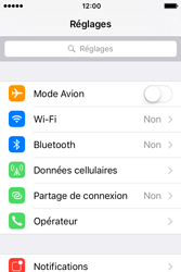 Apple iPhone 4 S iOS 9 - Internet - Activer ou désactiver - Étape 3