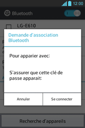LG E610 Optimus L5 - Bluetooth - connexion Bluetooth - Étape 10