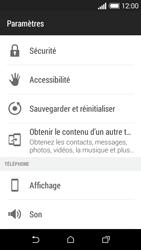 HTC Desire 510 - Aller plus loin - Restaurer les paramètres d'usines - Étape 4