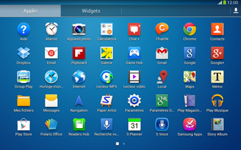 Samsung P5220 Galaxy Tab 3 10-1 LTE - Internet - navigation sur Internet - Étape 2
