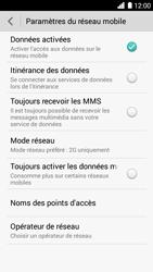 Huawei Ascend G6 - Réseau - Changer mode réseau - Étape 7