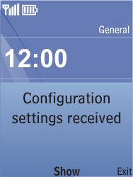 Nokia C2-05 - Internet - Automatic configuration - Step 3