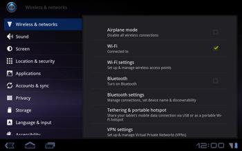 Huawei Mediapad S7-301u - Internet - Enable or disable - Step 4