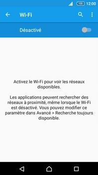 Sony Xperia Z5 Premium (E6853) - Wi-Fi - Accéder au réseau Wi-Fi - Étape 5