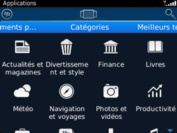 BlackBerry 9320 - Applications - Télécharger une application - Étape 6