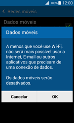 Samsung G357 Galaxy Ace 4 - Rede móvel - Como ativar e desativar uma rede de dados - Etapa 7