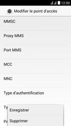 Huawei Y625 - MMS - Configuration manuelle - Étape 14