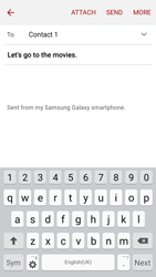 Samsung J500F Galaxy J5 - E-mail - Sending emails - Step 9