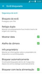 Samsung Galaxy Grand Prime - Segurança - Como ativar o código de bloqueio do ecrã -  12