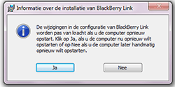 BlackBerry Z10 - Software - PC-software installeren - Stap 10